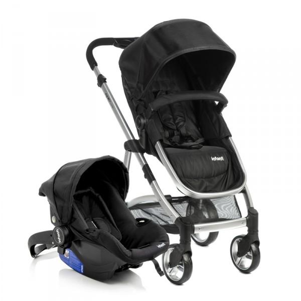 Carrinho de Bebê Epic Lite TS Trio Onyx